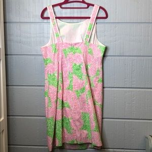 Lilly Pulitzer Dresses - Lily Pulitzer fryer shift pink limeade